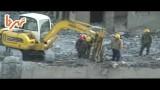 تخریب ساختمان توسط پیکور ( چکش هیدرولیکی )