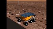 شبیه سازی ربات مریخ نورد