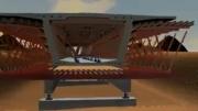 انیمیشن 3 بعدی بسیار زیبا از شیوه جدید ساخت پل.